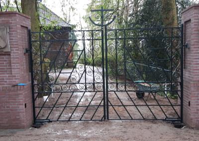 Gerestaureerde poort